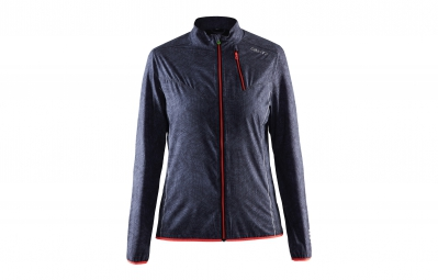 Craft veste femme mind gris raye rouge xs