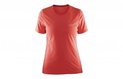 Craft t shirt femme mind orange saumon xs