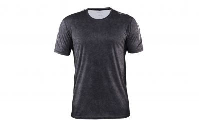 CRAFT T-Shirt Homme MIND Gris rayé Noir