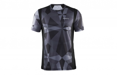 Craft t shirt homme devotion noir gris geo l