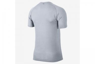 maillot homme nike dri fit knit gris xl