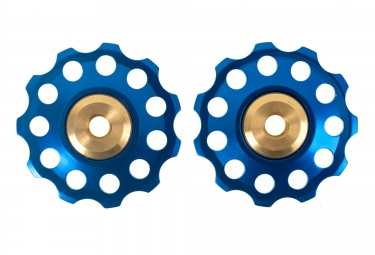 ICE Jockey Wheels X2 9/10S Blue