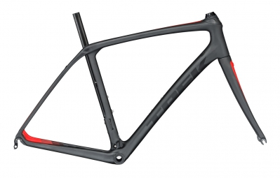 TREK 2017 Frameset DOMANE SLR Black/Red