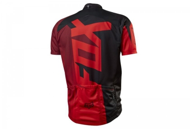 FOX Maillot manches courtes LIVEWIRE RACE Rouge