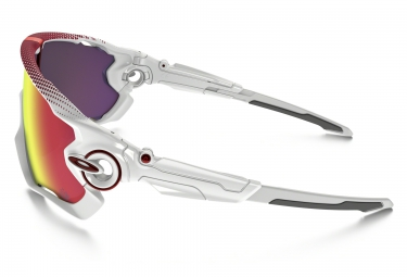 oakley lunettes jawbreaker prizm road tour de france blanc prizm road ref oo9290 18