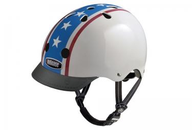 NUTCASE Dirt Helmet STREET White Blue Red