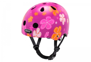 NUTCASE Youth Dirt Helmet BABY NUTTY Pink Red
