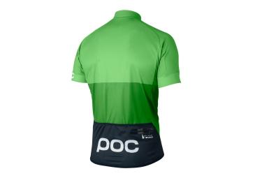 poc maillot manches courtes fondo vert l