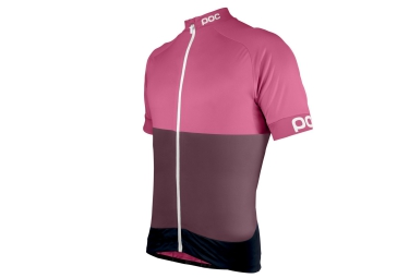 Poc maillot manches courtes fondo rose s