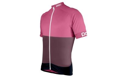 Poc maillot manches courtes fondo rose xl