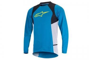 alpinestars maillot manches longues drop 2 bleu xl
