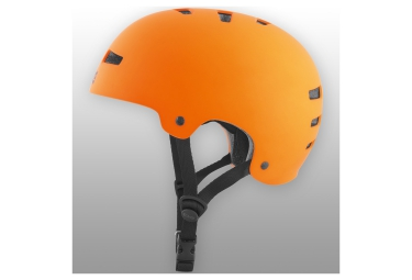 casque bol tsg evolution orange mat s m 54 56 cm