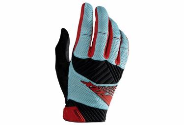 FOX Paire de gants DIGIT Ice Bleu