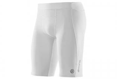 cuissard de compression skins a400 homme blanc s