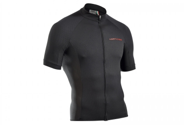 Maillot manches courtes northwave force noir s