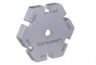 BIRZMAN Clé à Rayons Argent