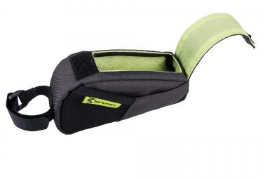 birzman sacoche de cadre belly s noir vert