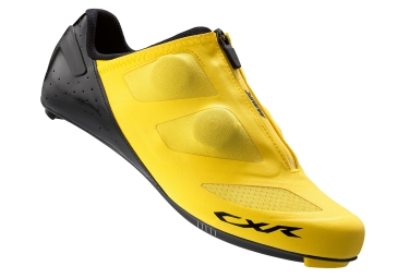 mavic paire de chaussures route cxr ultimate jaune noir 42