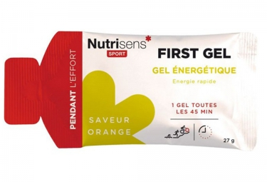 Nutrisens gel energetique first orange 27g