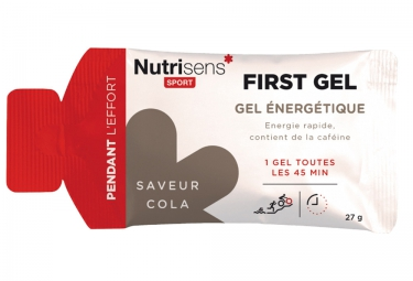 Nutrisens gel energetique first cola 27g