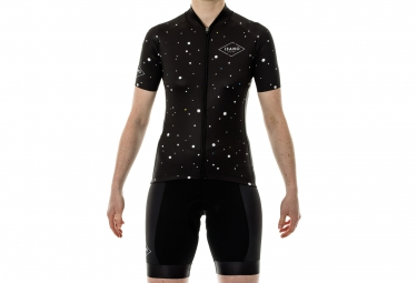 ISANO Woman Short Sleeves Jersey CONSTELLATION Black