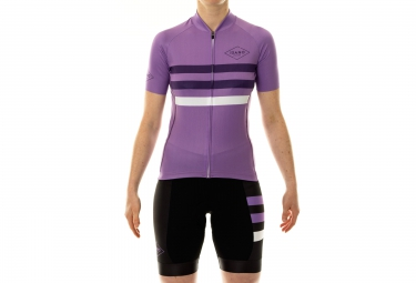 ISANO Woman Short Sleeves Jersey STRADA CLASSICA Purple