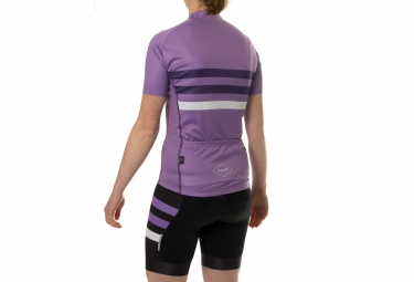 ISANO Maillot Manches Courtes Femme STRADA CLASSICA Violet