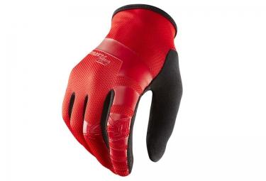 ROYAL Gants Longs CORE Rouge Noir