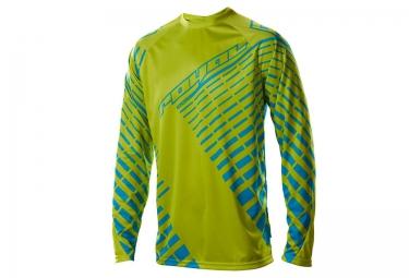 royal maillot manches longues impact vert bleu xl