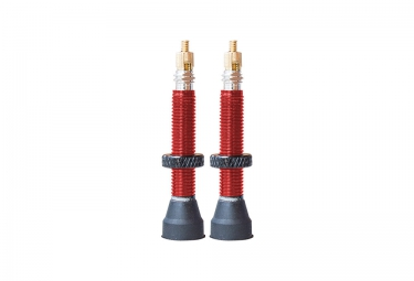Sb3 x2 valves tubeless aluminium 35mm rouge