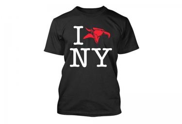 ANIMAL T-Shirt I LOVE NY Noir