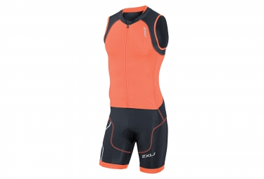 2XU Combinaison Tri-Fonctions de Compression TRISUIT Orange