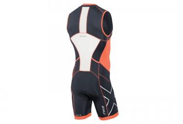2xu combinaison tri fonctions de compression trisuit orange s