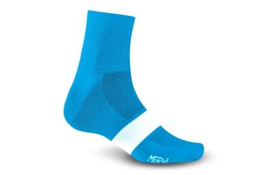 Giro paire de chaussettes classic racer bleu blanc 40 42