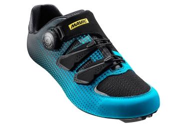 MAVIC 2016 Paire de Chaussures Route KSYRIUM HAUTE ROUTE EDITION Noir Bleu