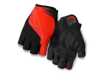 giro paire de gants bravo gel rouge noir xl