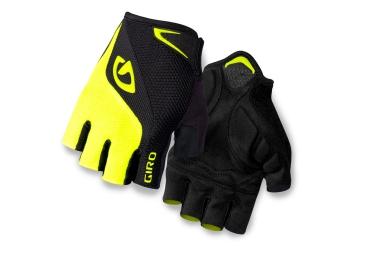 giro paire de gants bravo gel jaune noir xl
