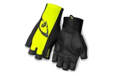 Giro paire de gants ltz ii jaune noir xl