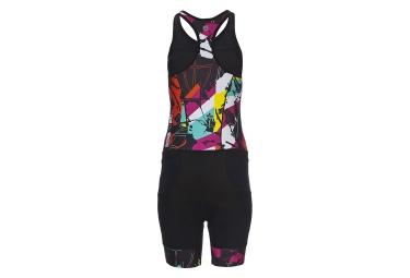 ZOOT Combinaison Tri-Fonctions ULTRA TRI RACESUIT Noir Multi-couleur Femme