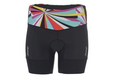 Zoot short de triathlon performance tri 6 noir multi couleur femme m
