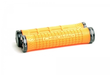 CHROMAG Lock-on Grips CLUTCH 146mm Orange