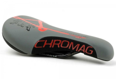 selle chromag overture gris rouge