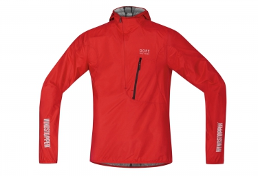 gore bike wear veste rescue windstopper active shell rouge m