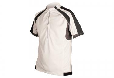 maillot manches courtes endura hummvee blanc s