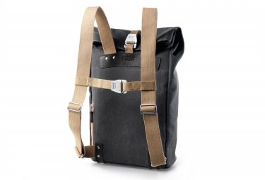 brooks sac a dos pickwick s gris beige
