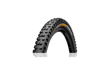 continental pneu der baron projekt 27 5x2 4 protection apex blackchili tubeless ready souple