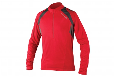 maillot manches longues endura hummvee ii rouge xl