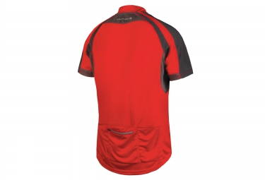 maillot manches courtes endura hummvee rouge s