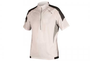 maillot manches courtes endura hummvee lite blanc s