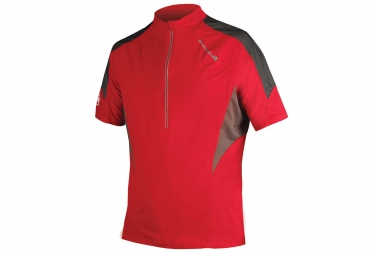 Maillot manches courtes endura hummvee lite rouge s